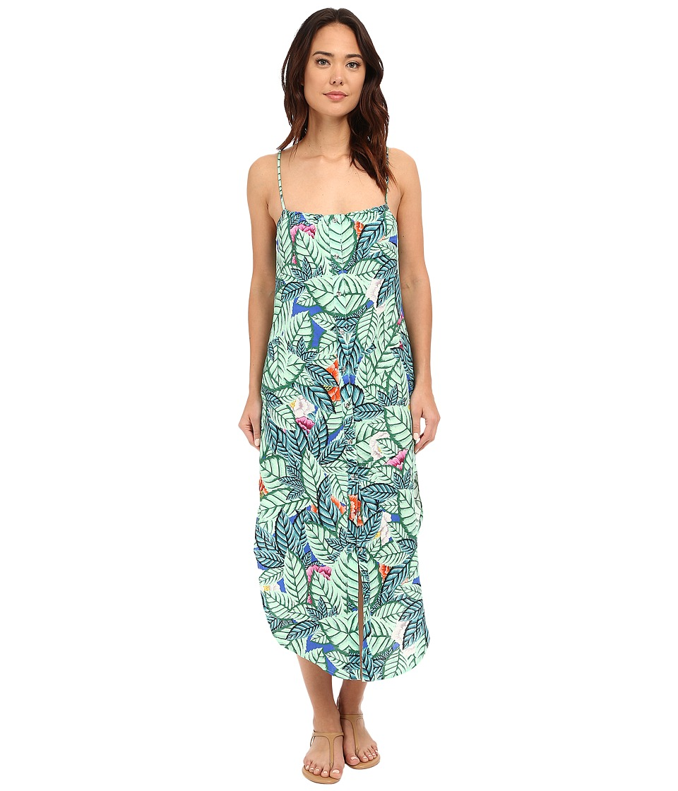 Mara Hoffman Leaf Easy Dress (Blue Multi) Women