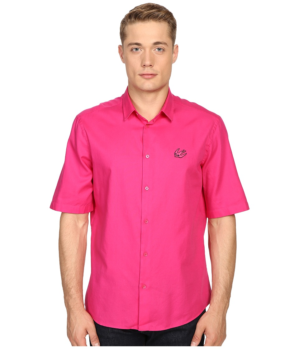 McQ - Short Sleeve Sheehan (Iconic Pink) Men's Short Sleeve Button Up