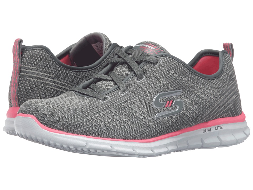SKECHERS - Glider - Forever Young (Gray) Women's Shoes