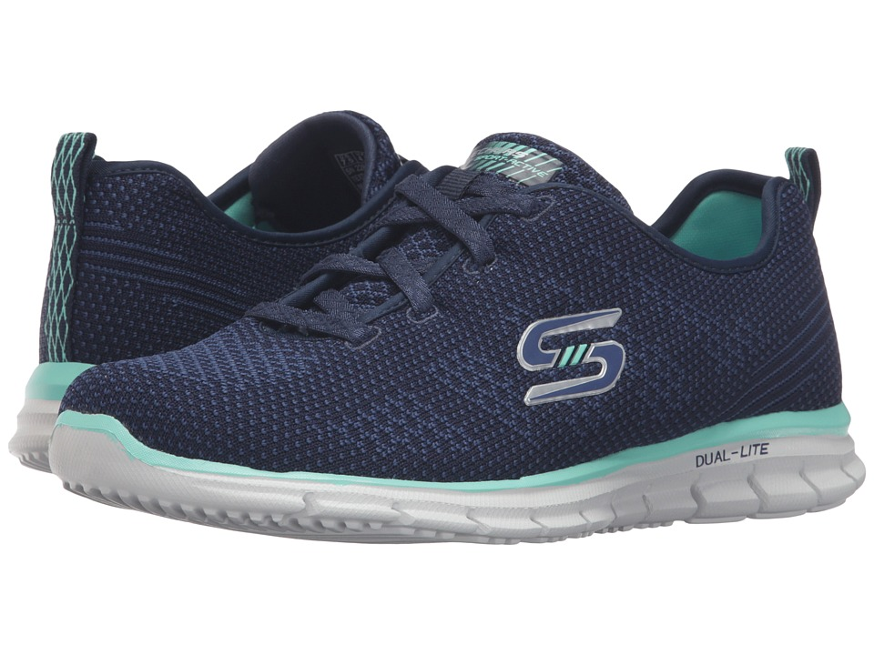 SKECHERS - Glider - Forever Young (Navy) Women's Shoes