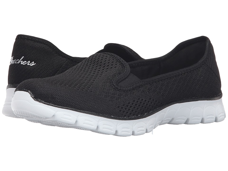 SKECHERS - EZ Flex 3.0 - Surround (Black/White) Women's Shoes