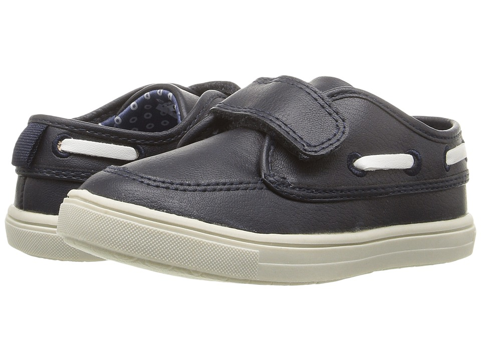 Carters - Super-C (Toddler/Little Kid) (Navy) Boy's Shoes