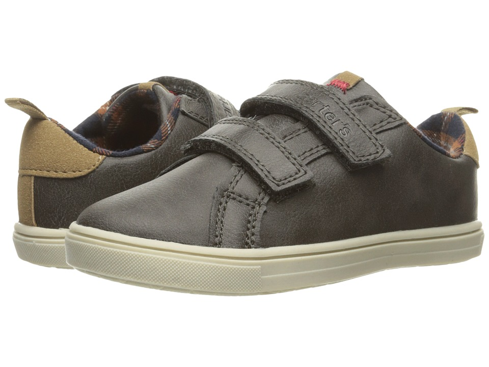 Carters - Gus 3 (Toddler/Little Kid) (Grey) Boy's Shoes