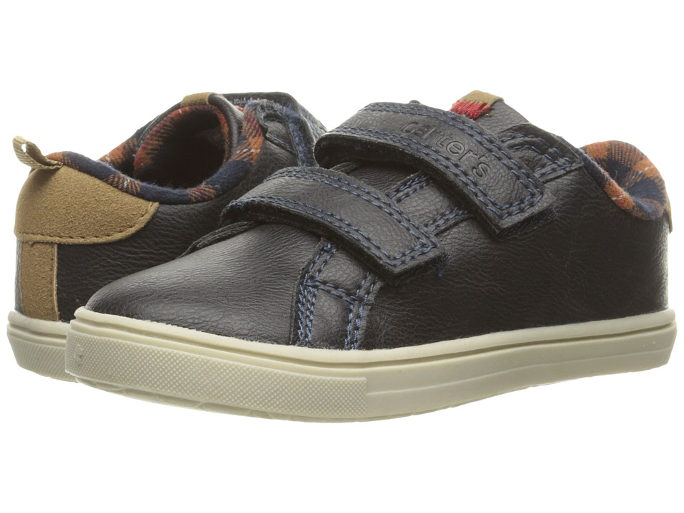 Carters - Gus 3 (Toddler/Little Kid) (Navy) Boy's Shoes