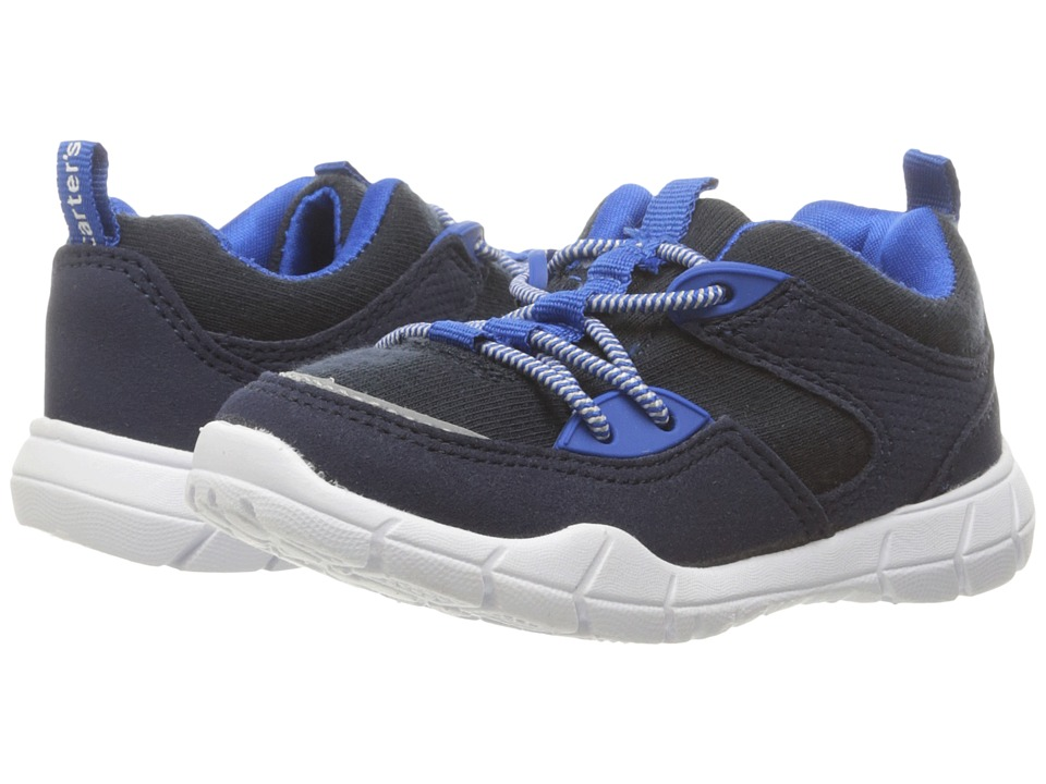 Carters - Tanker (Toddler/Little Kid) (Navy/Blue) Boy's Shoes