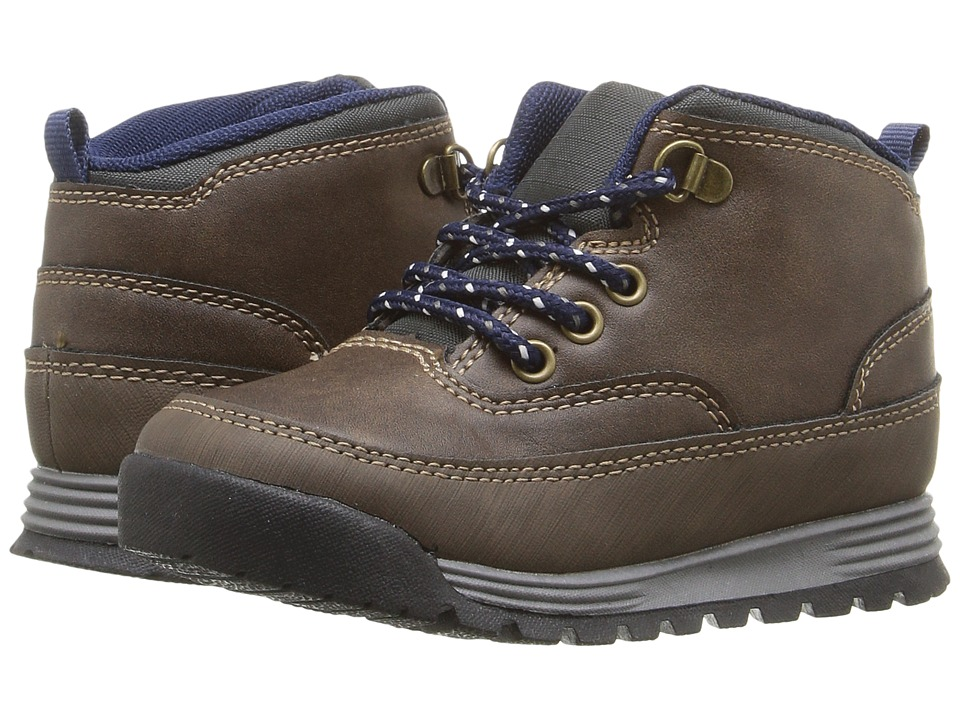 Carters - Spike 2 (Toddler/Little Kid) (Brown/Grey) Boy's Shoes