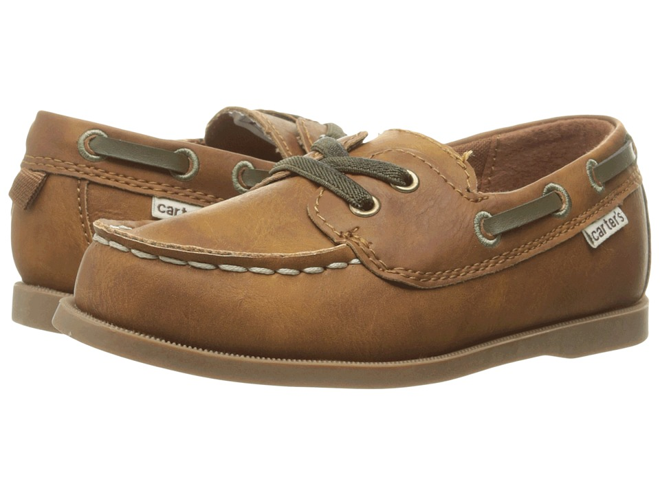 Carters - Ian (Toddler/Little Kid) (Brown) Boy's Shoes