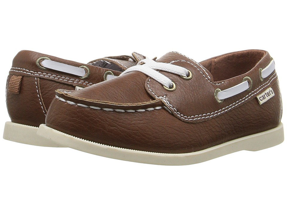Carters Ian (Toddler/Little Kid) (Dark Brown) Boy