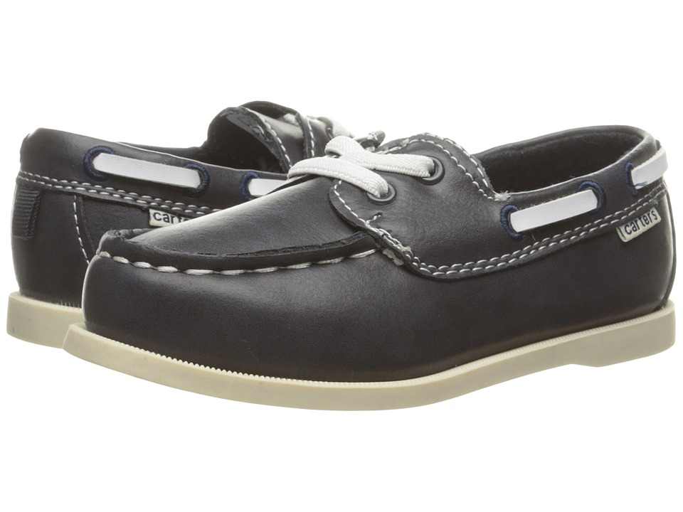 Carters - Ian (Toddler/Little Kid) (Navy) Boy's Shoes