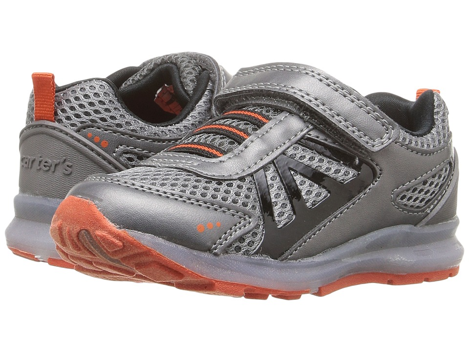 Carters - Specter-B (Toddler/Little Kid) (Gunmetal/Orange) Boy's Shoes