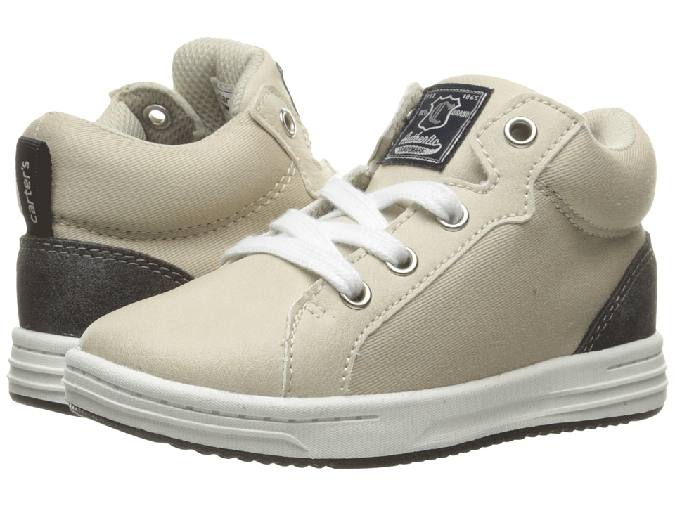 Carters - Sound-B (Toddler/Little Kid) (Khaki/Grey) Boy's Shoes