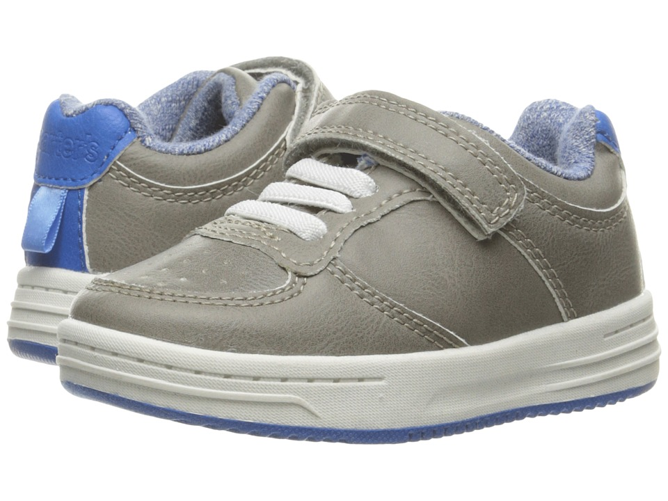 Carters - Patrick-C (Toddler/Little Kid) (Grey/Blue) Boy's Shoes