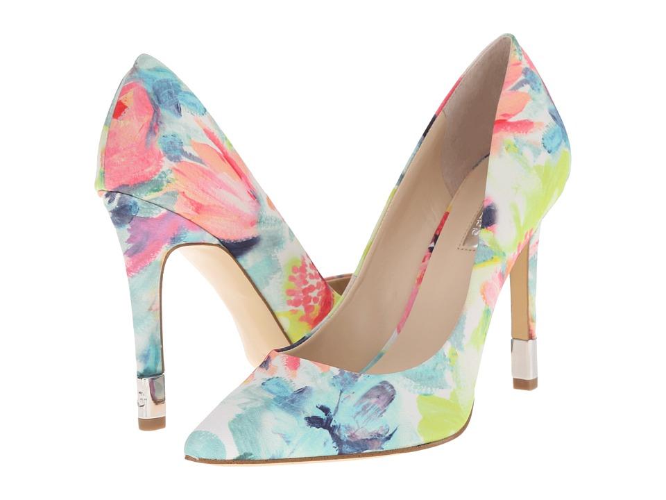GUESS - Babbitta 3 (Floral Fabric) High Heels