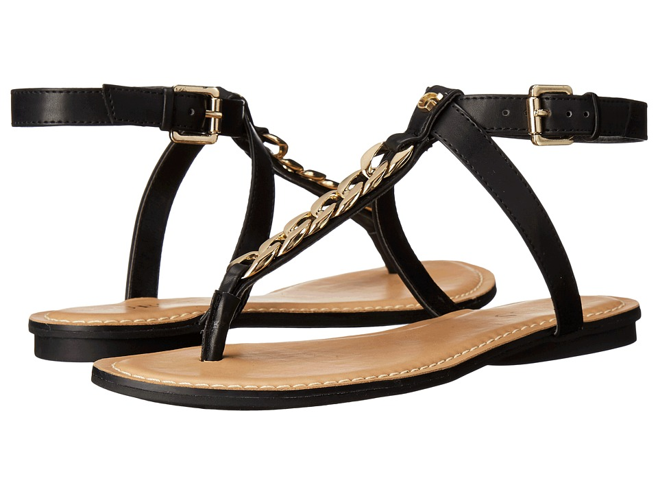 GUESS - Gurri (Black Synthetic) Women's Sandals