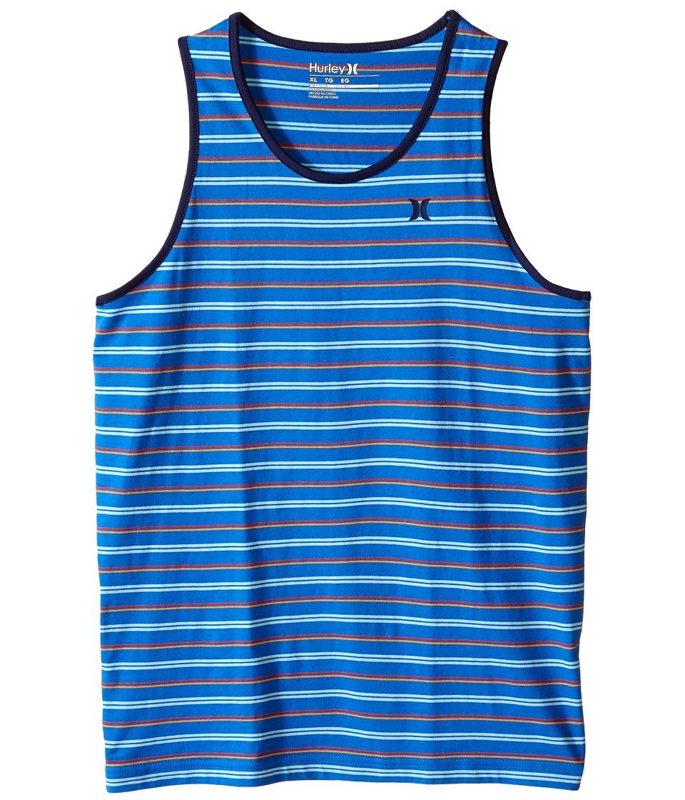 Hurley Kids - La Jolla Tank Top (Big Kids) (Fountain Blue) Boy's Sleeveless