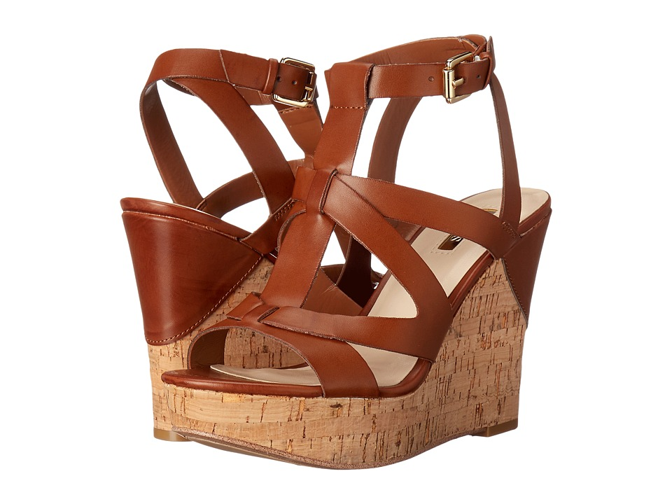 GUESS - Harlea (Natural Synthetic) Women's Wedge Shoes