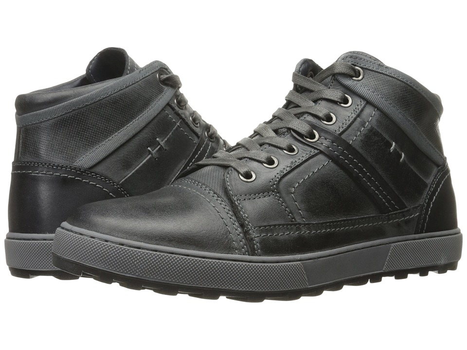 Steve Madden - Holsten (Dark Grey) Men's Lace up casual Shoes