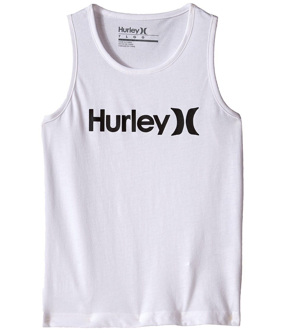 Hurley Kids - One and Only Tank Top (Little Kids) (White) Boy's Sleeveless
