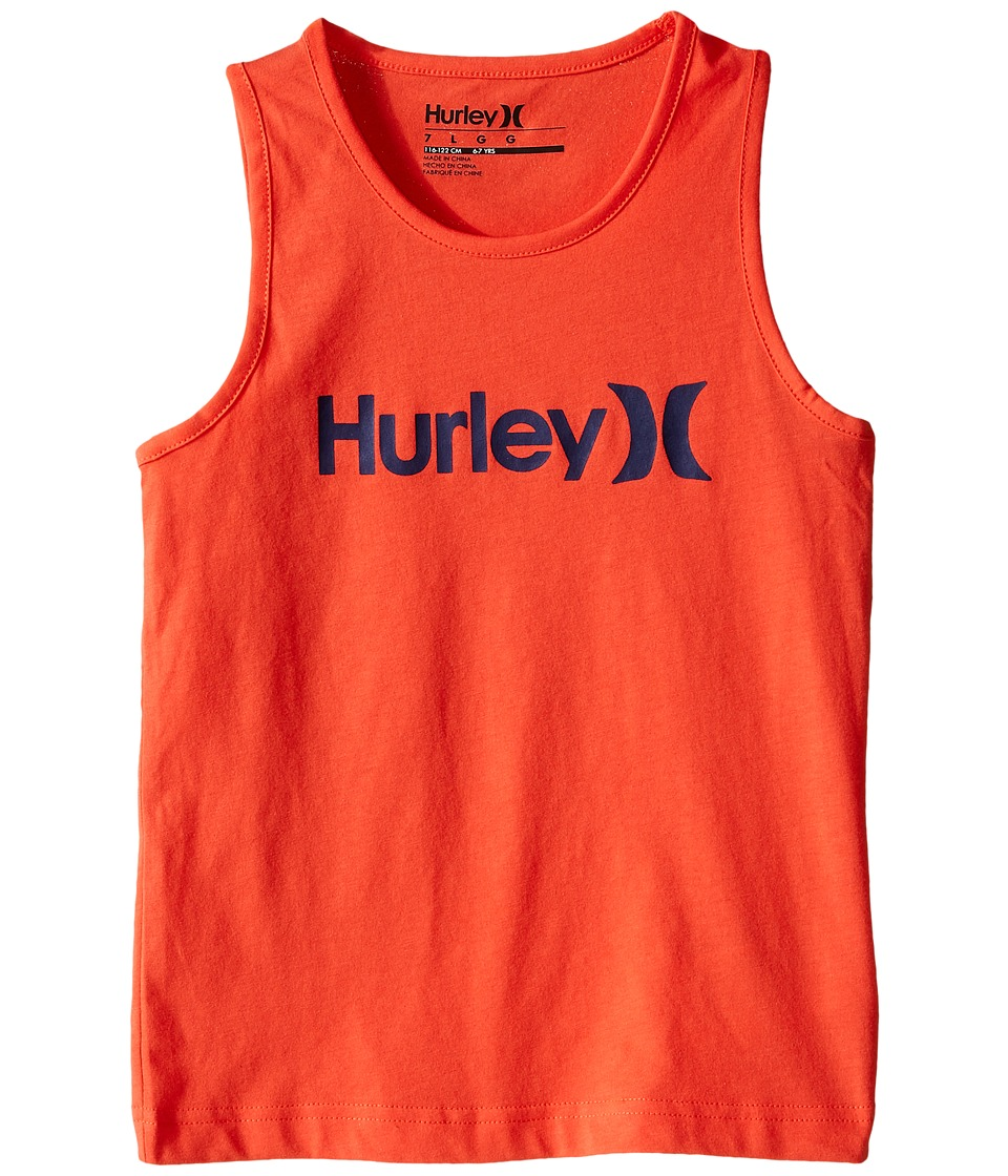 Hurley Kids - One and Only Tank Top (Little Kids) (Bright Crimson) Boy's Sleeveless