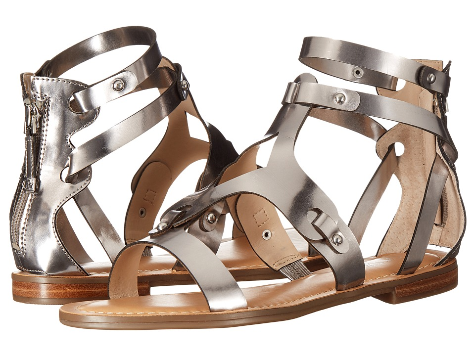 GUESS Mabyn Pewter Womens Sandals