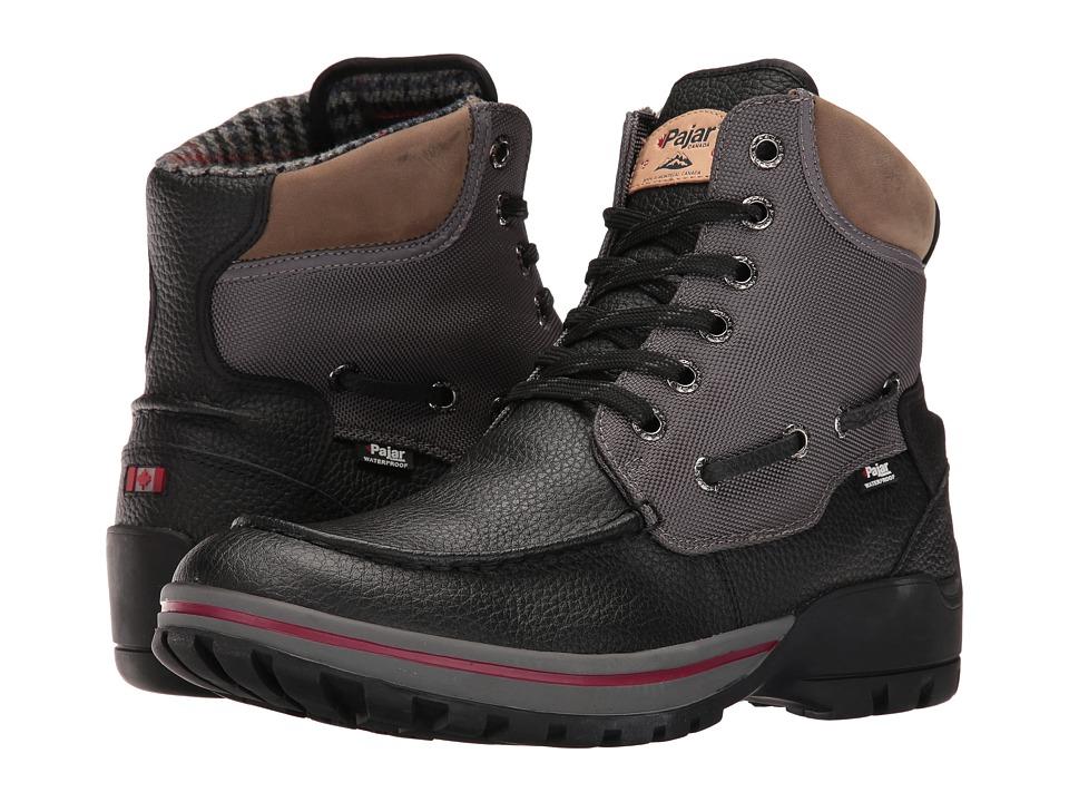 Pajar CANADA - Brent (Black/Grey) Men's Shoes