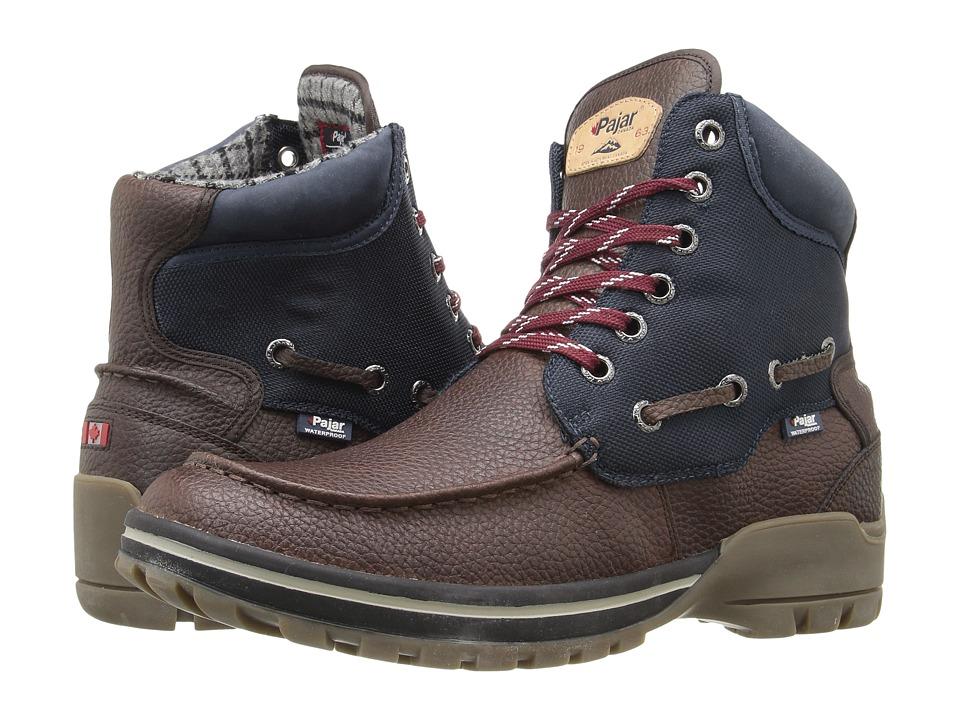 Pajar CANADA - Brent (Dark Brown/Navy) Men's Shoes