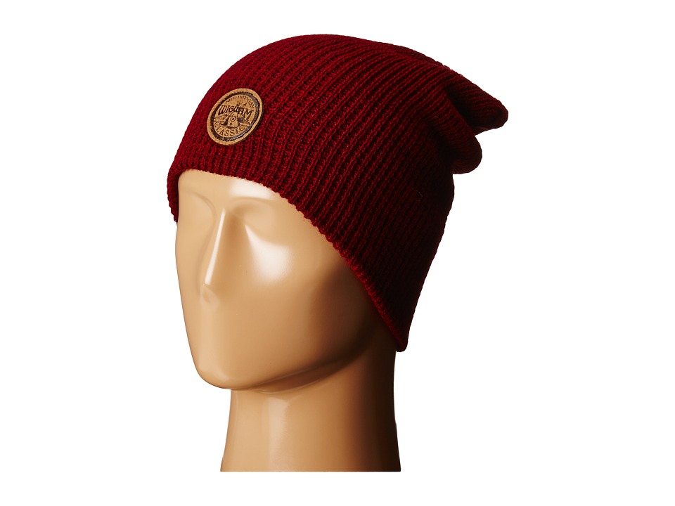 Wigwam - Urban Slouch Beanie (Red Heather) Beanies