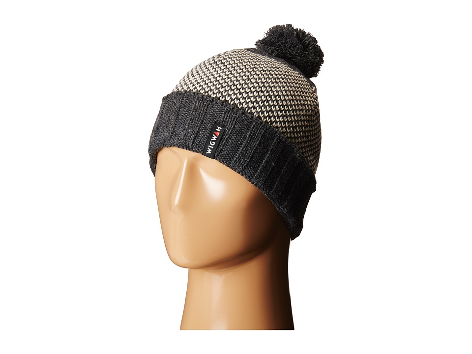 Wigwam - Elements Pom Beanie (Charcoal) Beanies