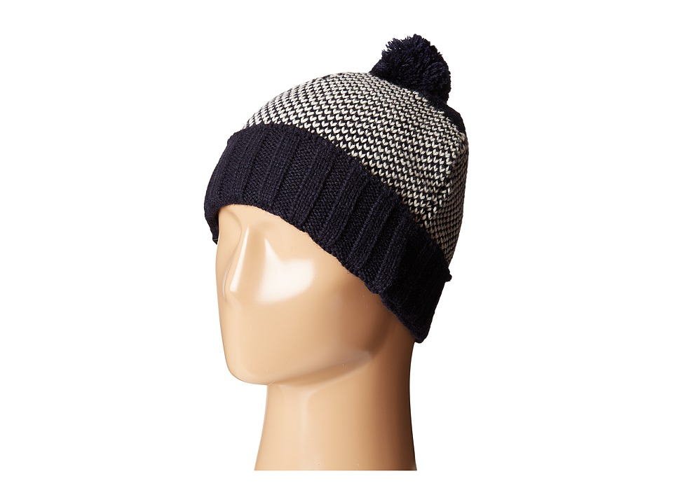 Wigwam - Elements Pom Beanie (Navy) Beanies