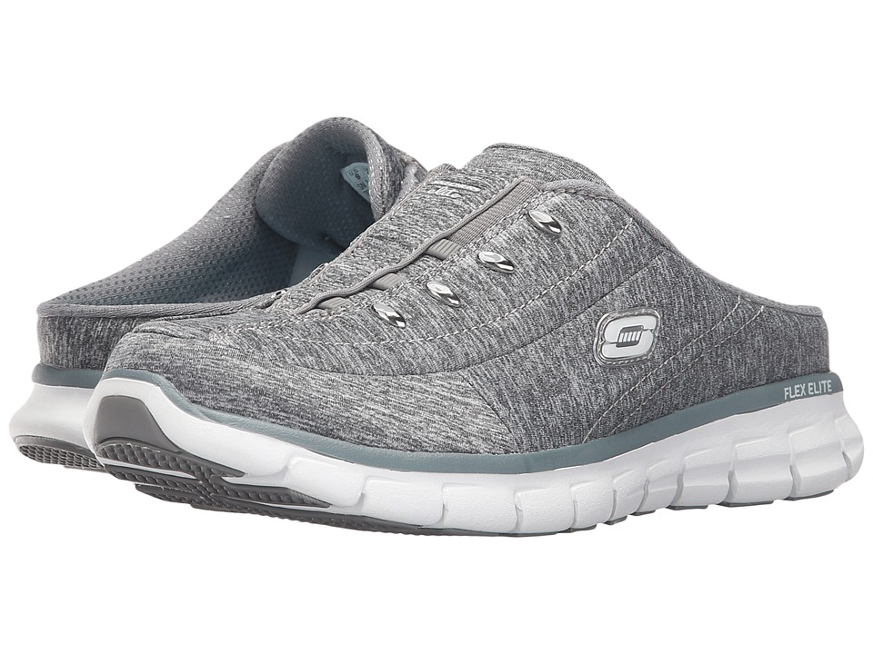 SKECHERS - Right Now (Gray) Women's Shoes