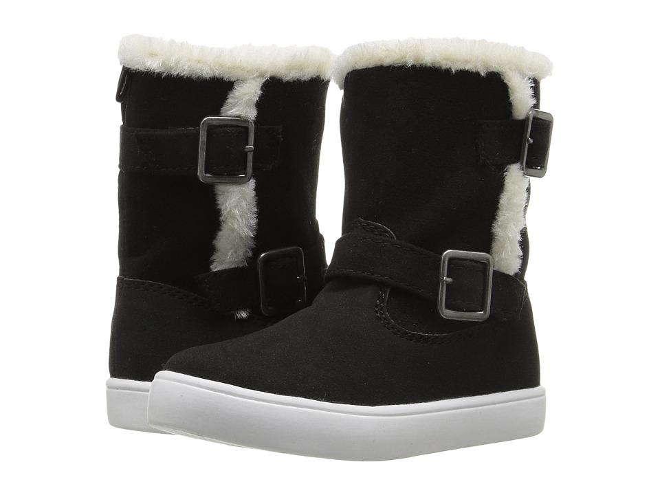 Carters - Siberia-C (Toddler/Little Kid) (Black) Girl's Shoes