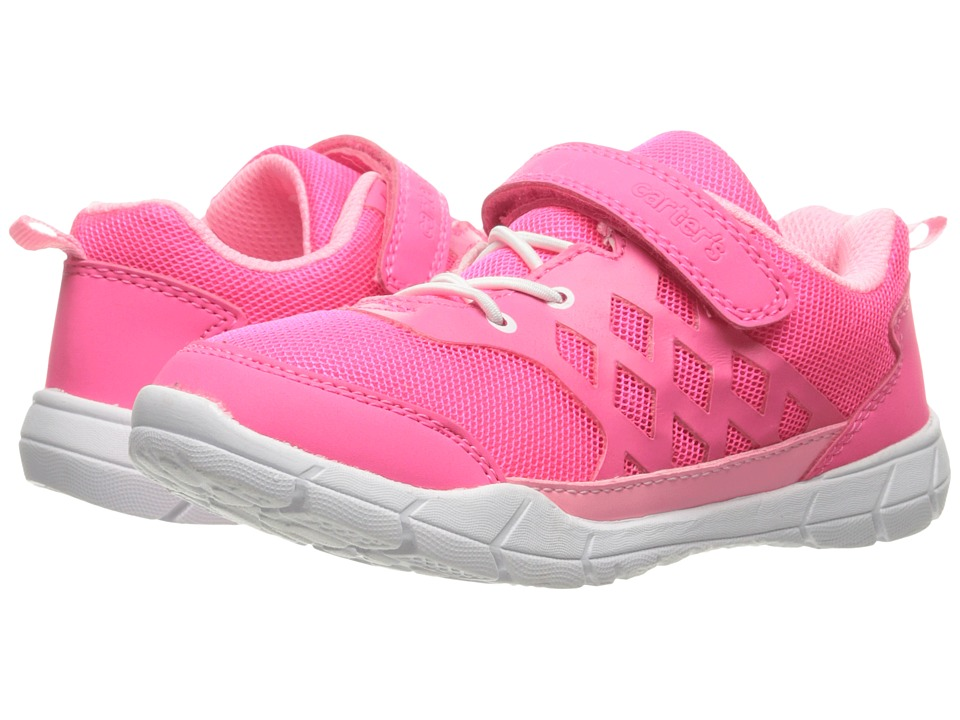 Carters - Gold 2 (Toddler/Little Kid) (Pink) Girl's Shoes