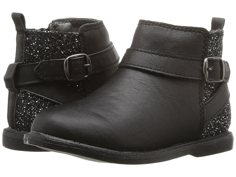 Carters - Nancy-C (Toddler/Little Kid) (Black) Girl's Shoes