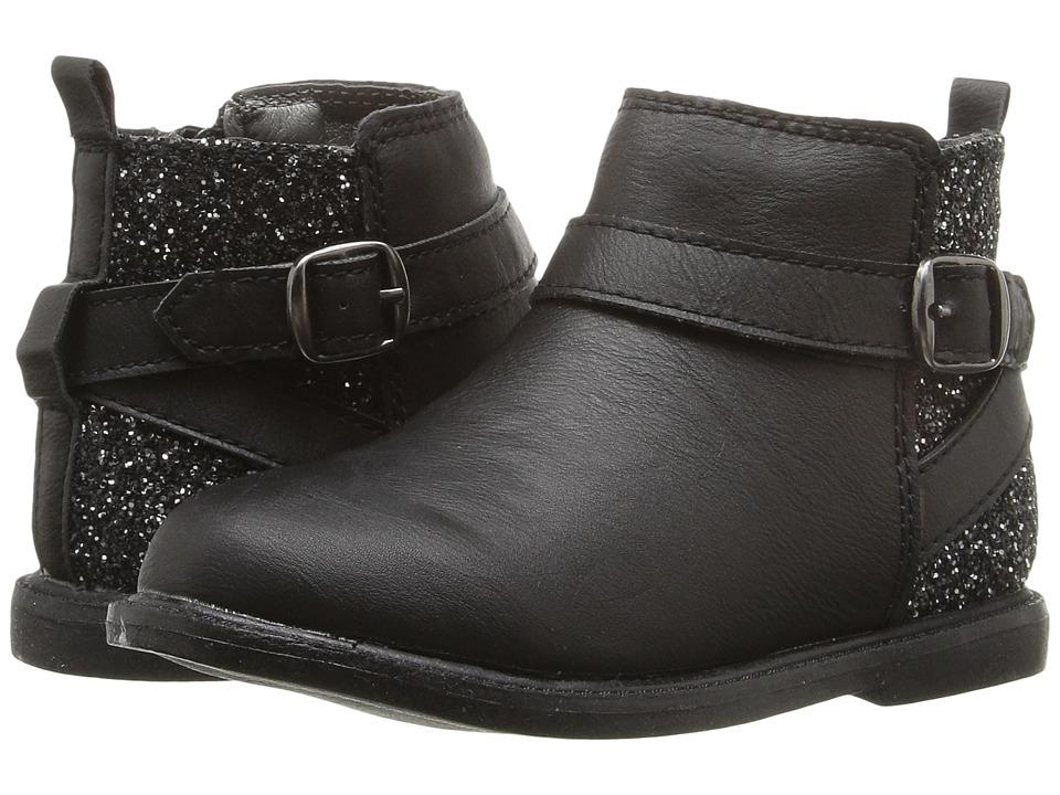 Carters - Nancy-C (Toddler/Little Kid) (Black) Girl's Shoes