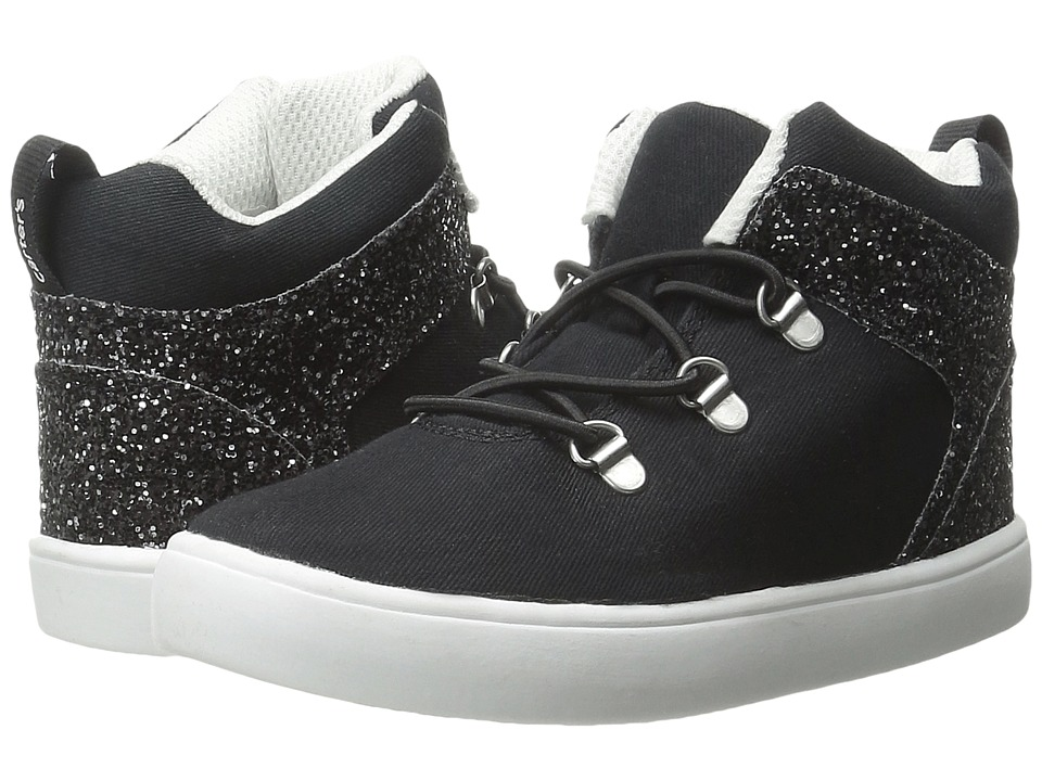 Carters - Prima 3 (Toddler/Little Kid) (Black) Girl's Shoes