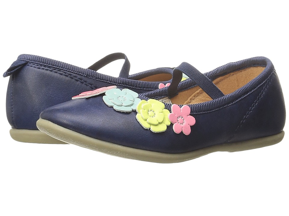 Carters - Muriel-C (Toddler/Little Kid) (Navy) Girl's Shoes