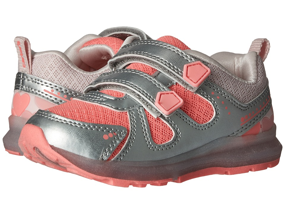 Carters - Fury-G (Toddler/Little Kid) (Pink/Orange/Silver) Girl's Shoes