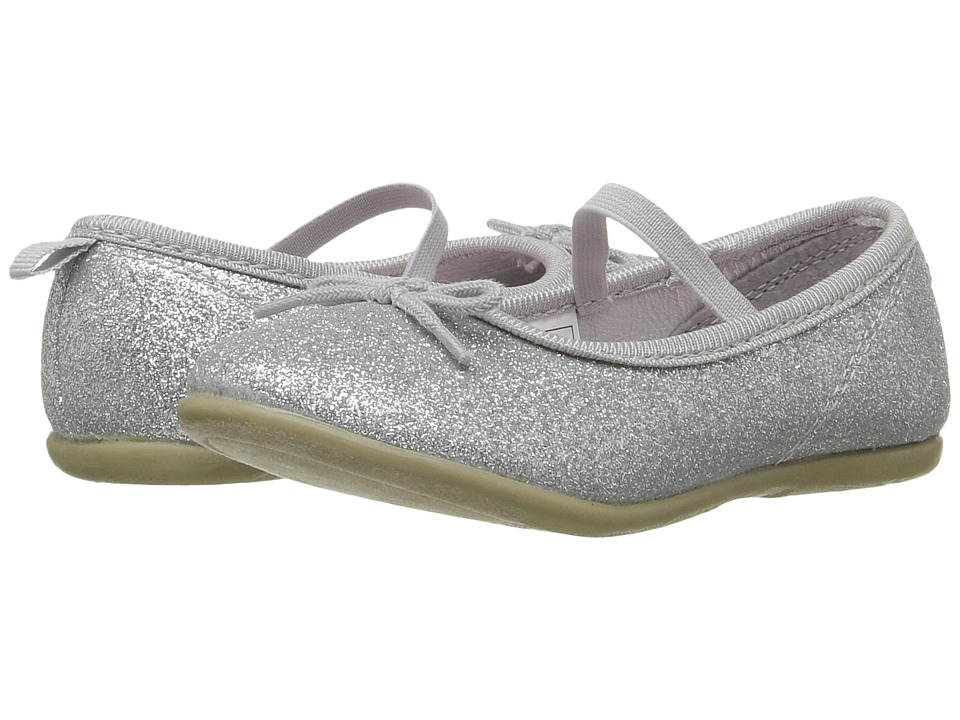 Carters - Ruby 4 (Toddler/Little Kid) (Silver) Girl's Shoes