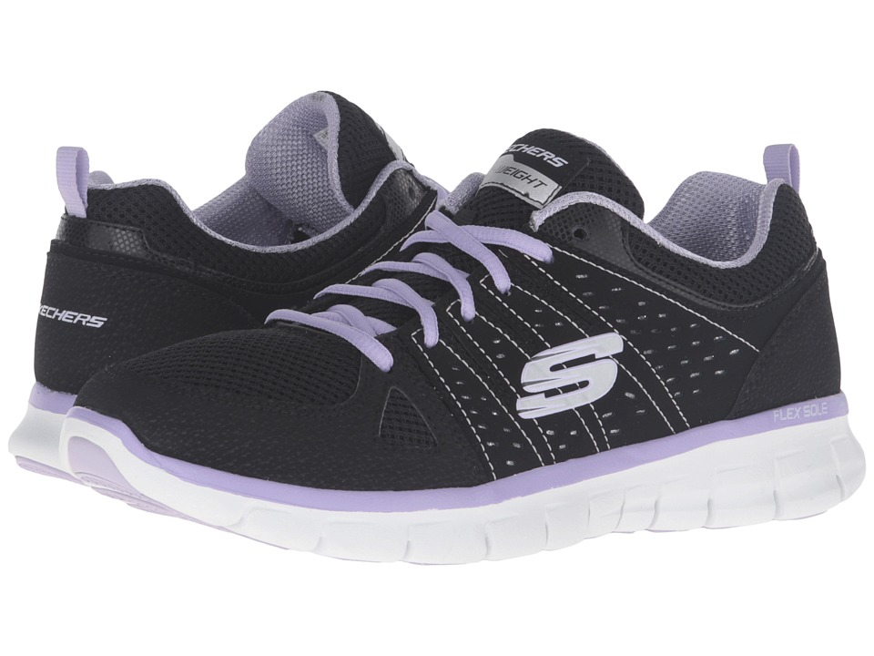 SKECHERS - Look Book (Black Lavender) Women's Shoes