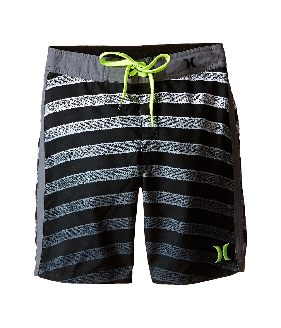 Hurley Kids - Streamline Boardshorts (Little Kids) (Anthracite) Boy's Swimwear