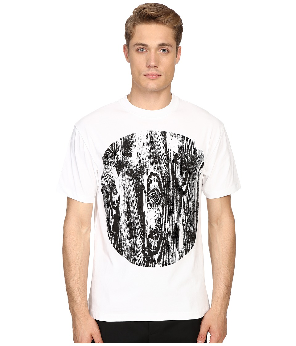 McQ - Dropped Shoulder Tee (Optic White) Men's T Shirt