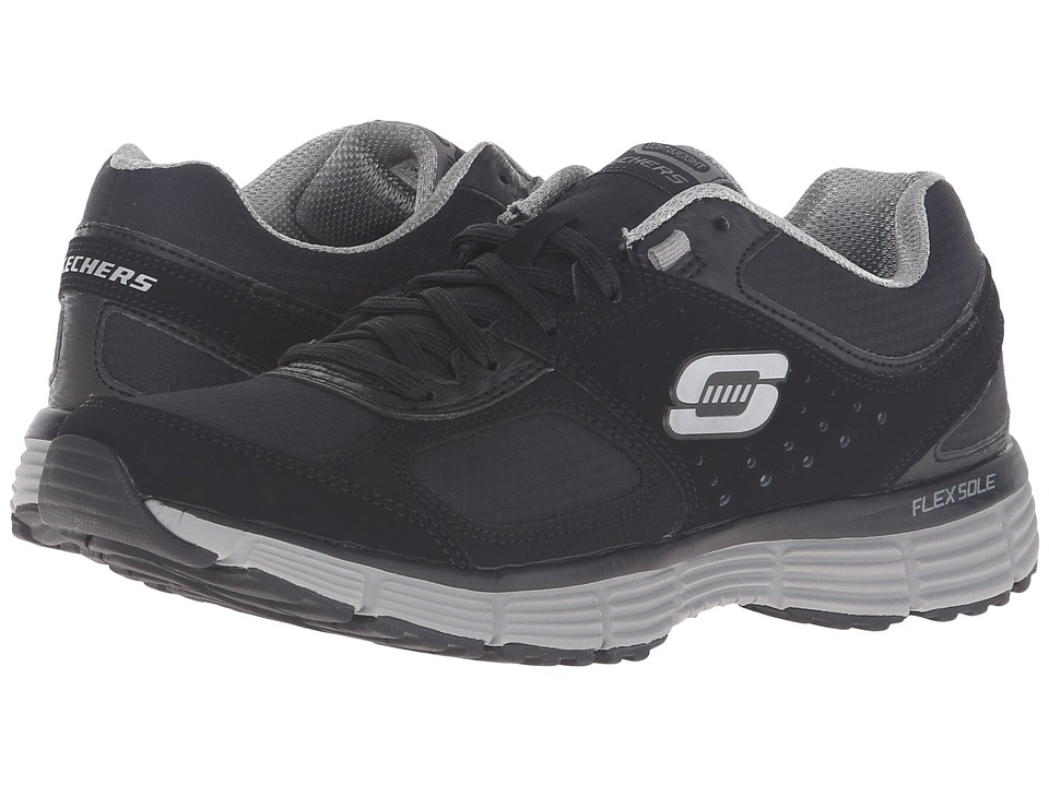 SKECHERS - Agility - Ramp Up (Black/Gray) Women's Shoes