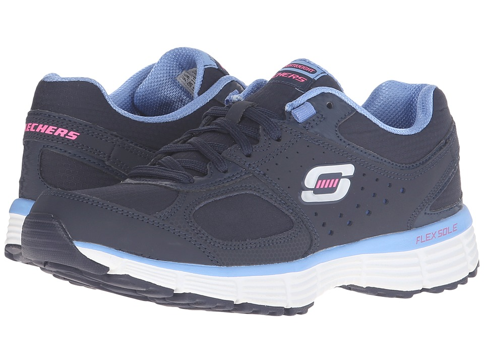 SKECHERS - Agility - Ramp Up (Navy/Blue) Women's Shoes