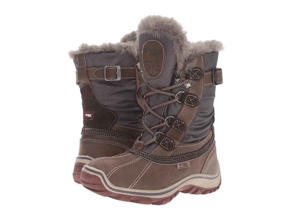 Pajar CANADA - Adelaide (Dark Brown/Grey) Women's Shoes