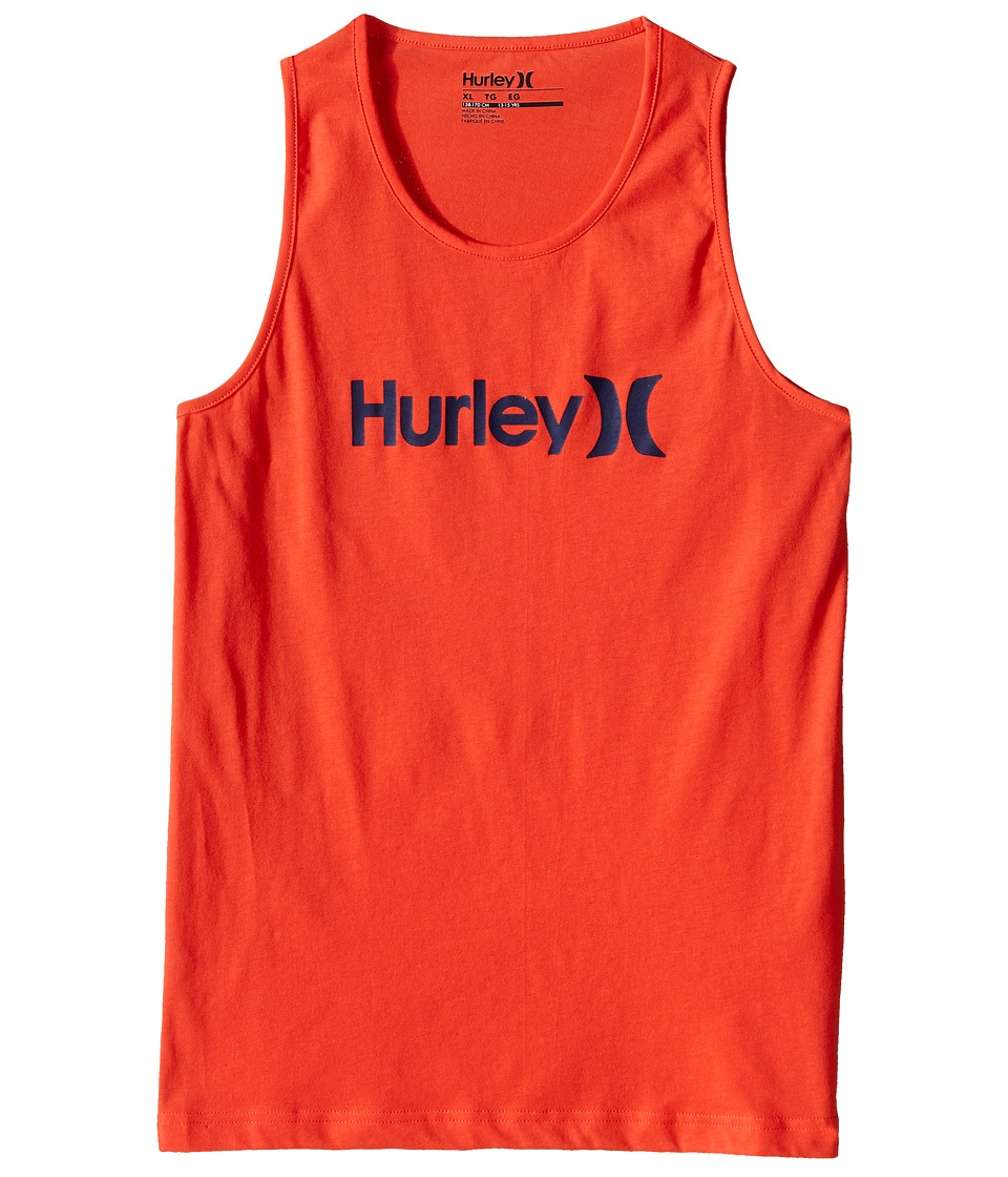 Hurley Kids - One Only Tank Top (Big Kids) (Bright Crimson) Boy's Sleeveless
