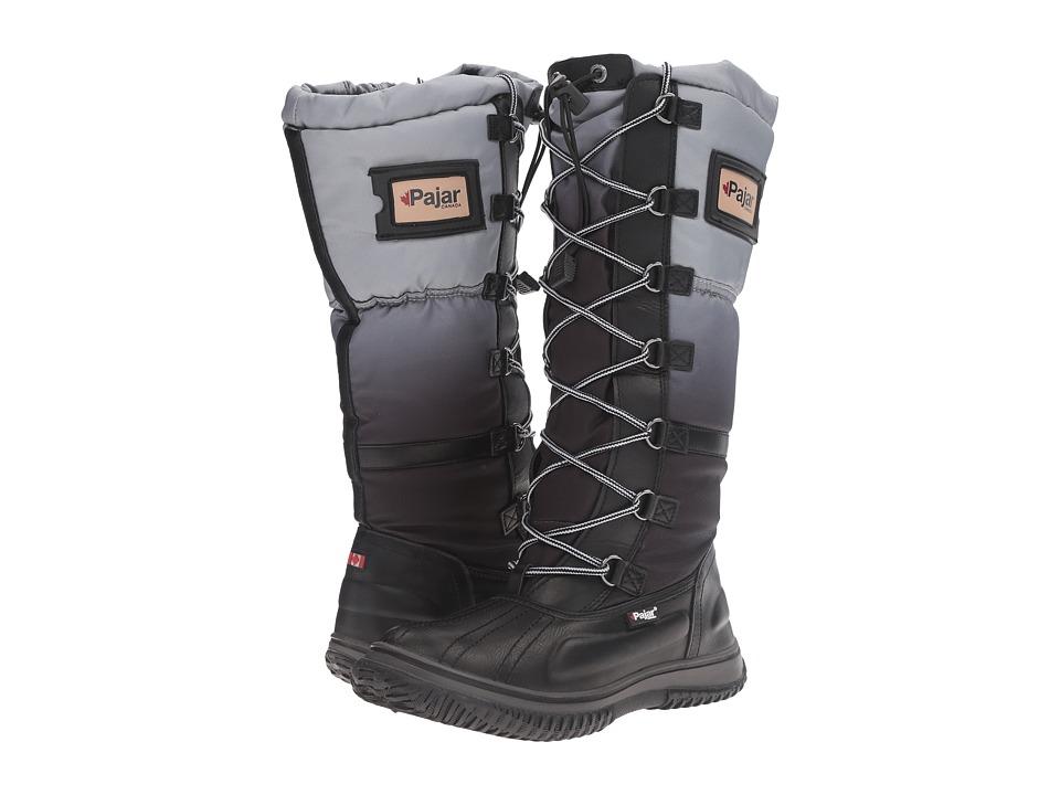 Pajar CANADA - Gia (Black/Grey/Black) Women's Shoes