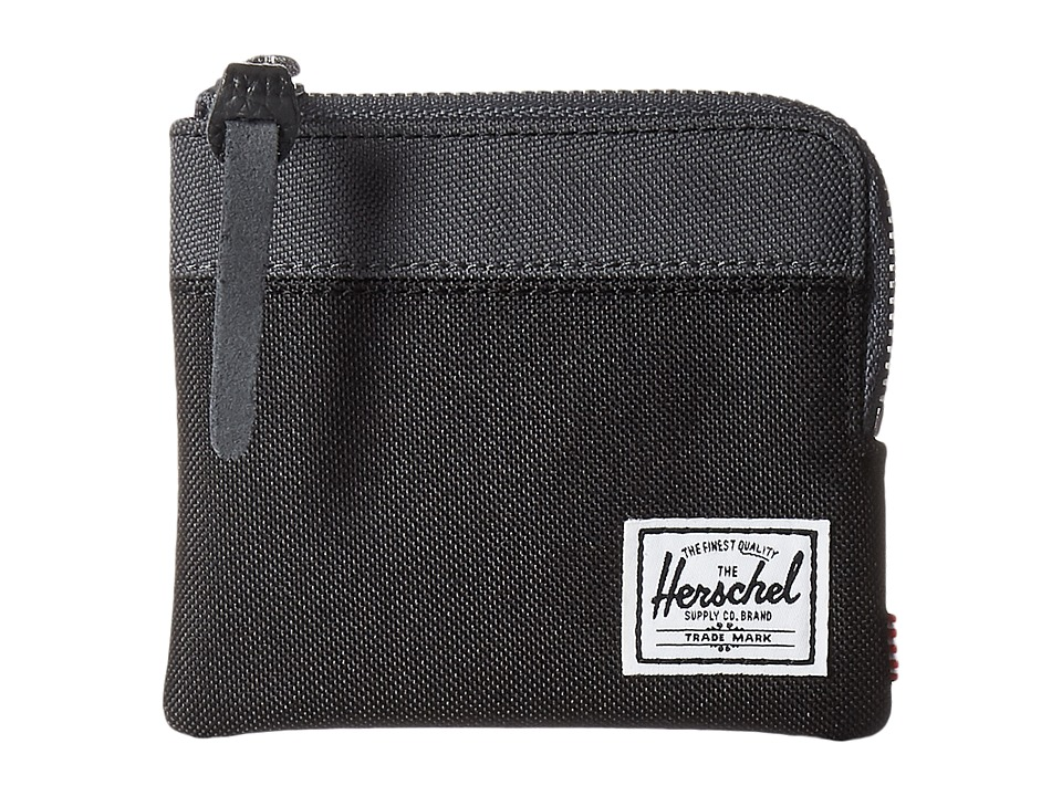 Herschel Supply Co. - Johnny (Black/Dark Shadow) Coin Purse