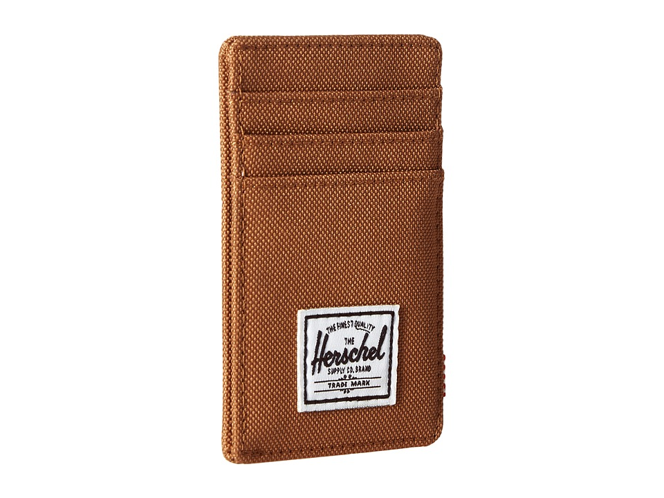 Herschel Supply Co. - Raven (Caramel) Credit card Wallet