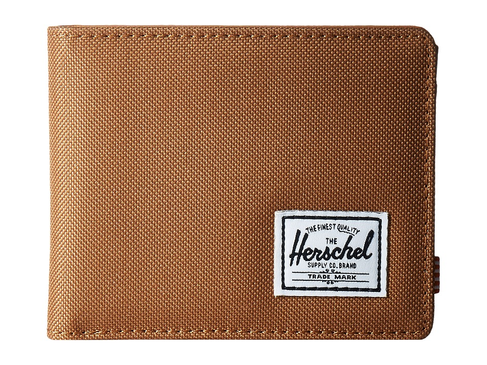 Herschel Supply Co. - Hank (Caramel/Tan Synthetic Leather) Wallet Handbags