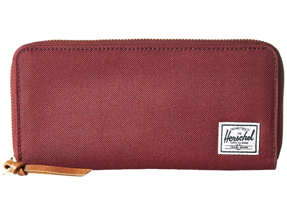 Herschel Supply Co. - Avenue with Zipper (Windsor Wine 2) Wallet Handbags
